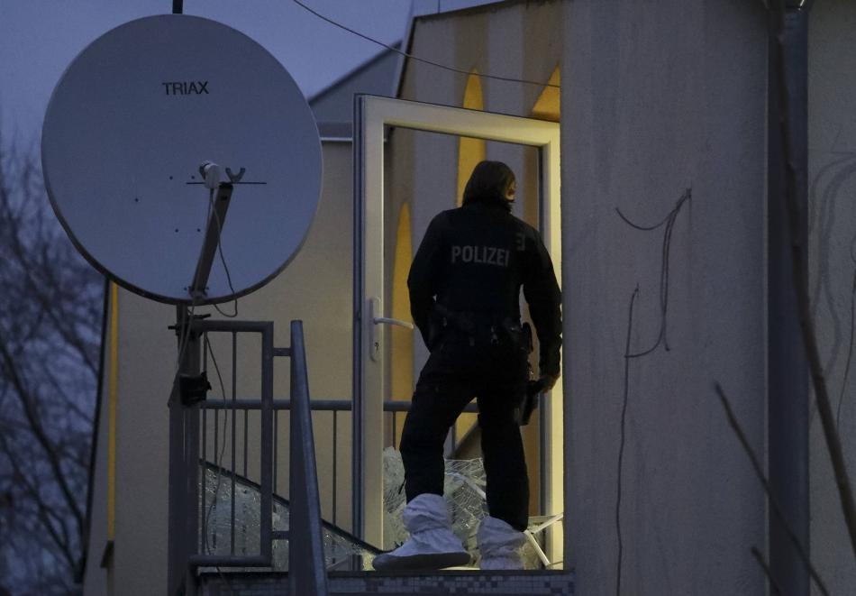 Policejní razie ve frankfurtské mešitě