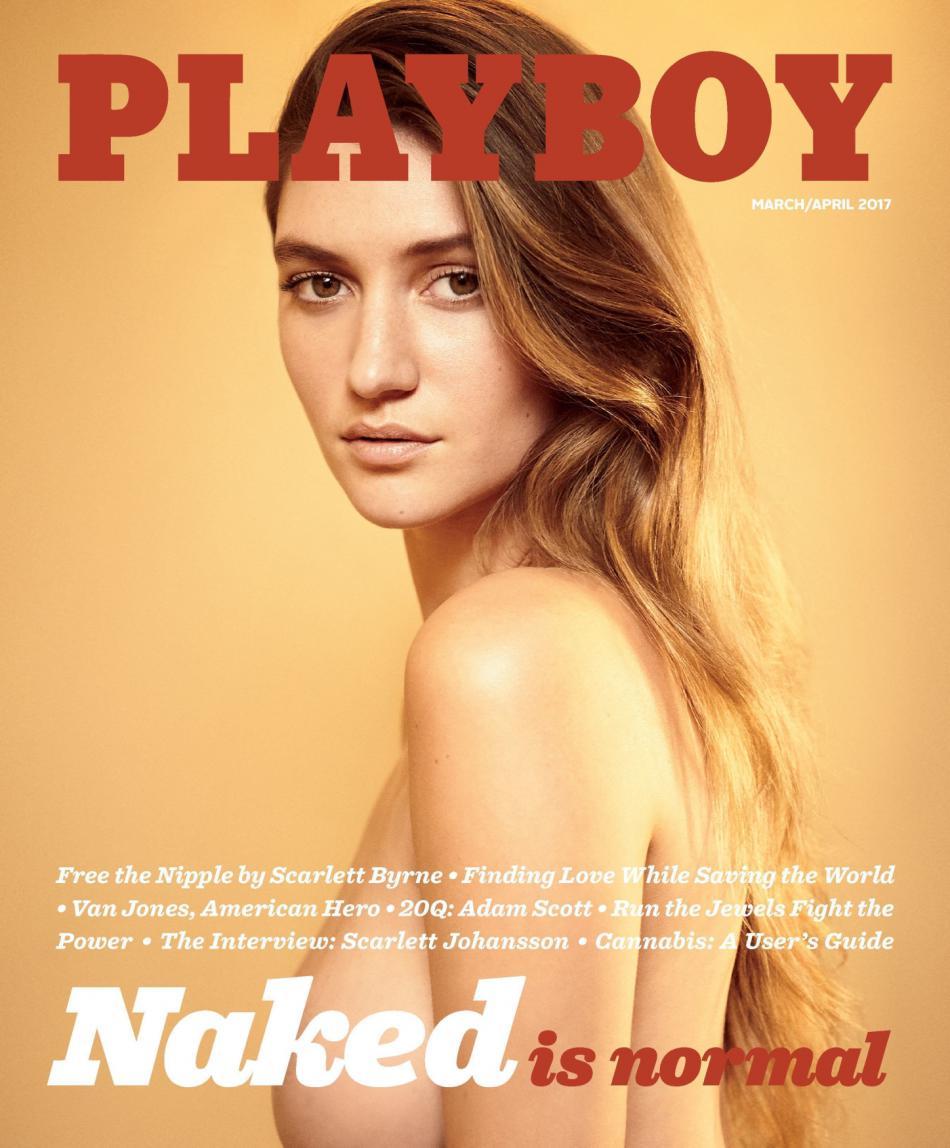 Titulka březnového magazínu Playboy