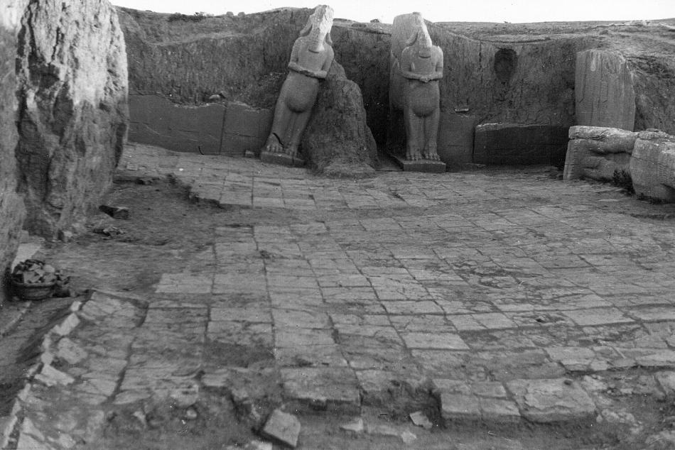 Snímek Nimrudu pořízený Agathou Christie