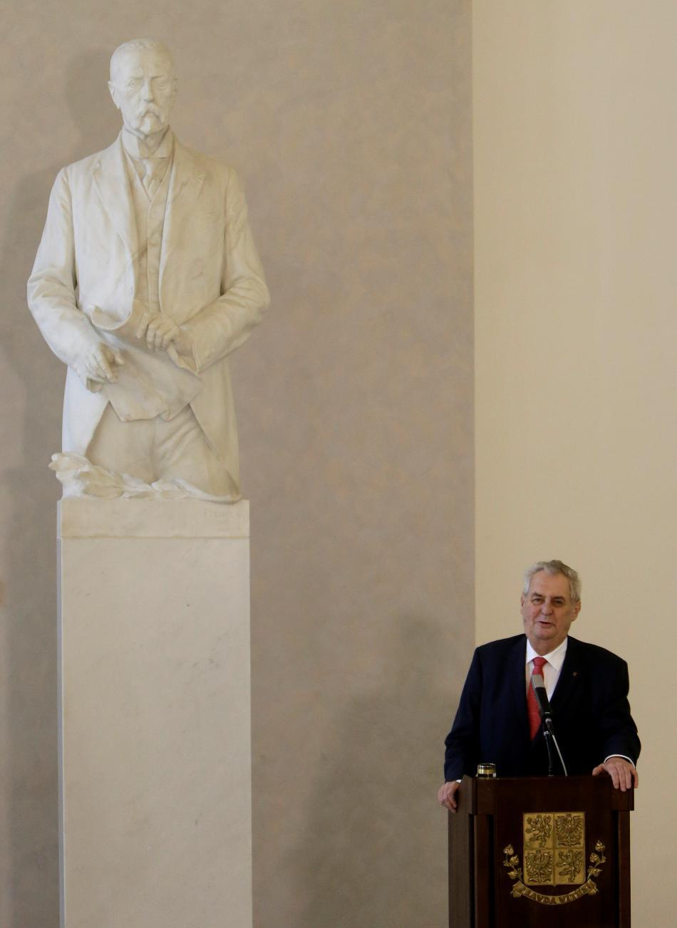 Miloš Zeman se bude znovu ucházet o post prezidenta
