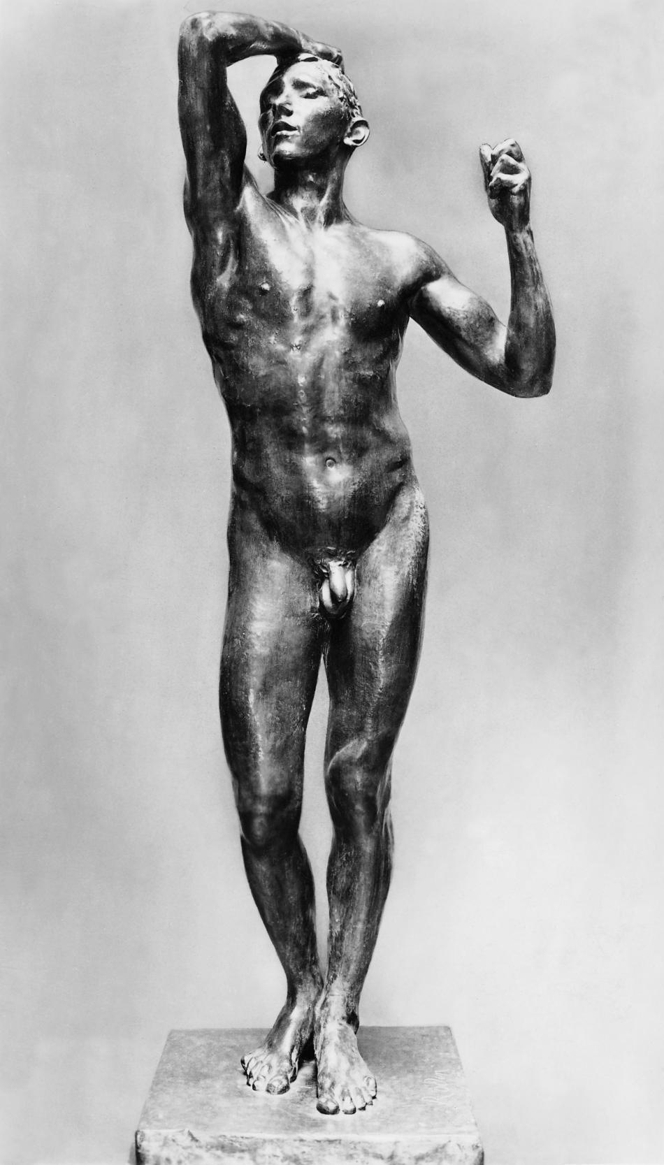 Bronzový věk od Augusta Rodina