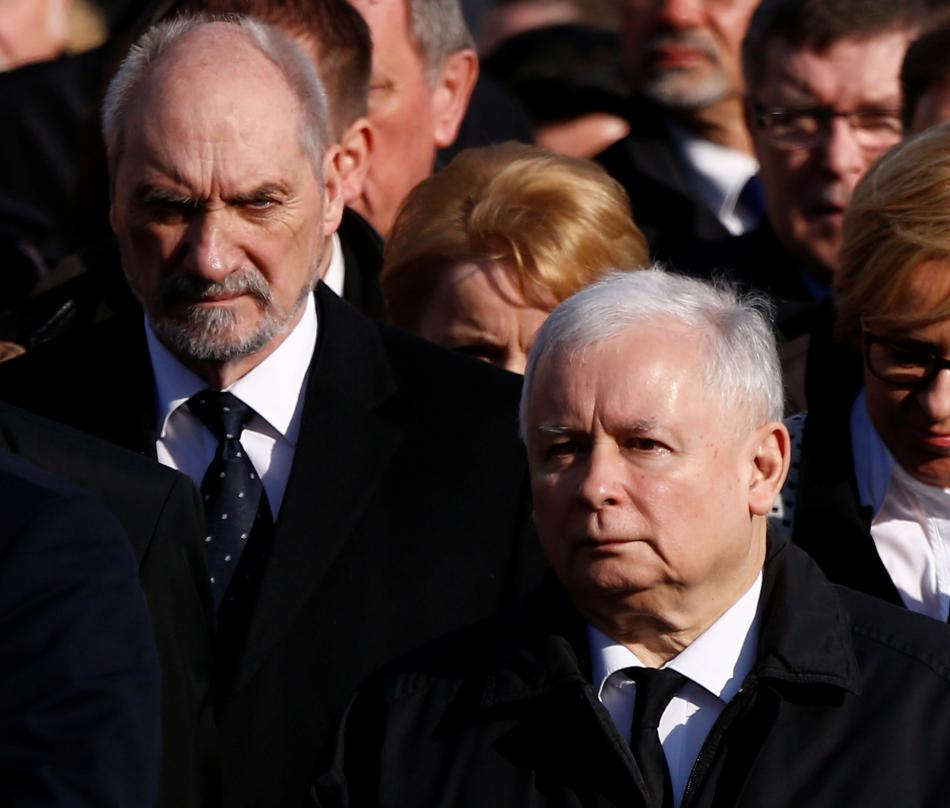 Antoni Macierewicz a Jaroslaw Kaczyński