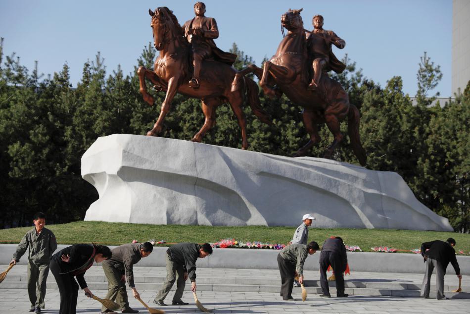 V KLDR se pilně připravují na výročí narození Kim Ir-sena