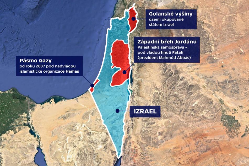 Stát Izrael a Palestinská území