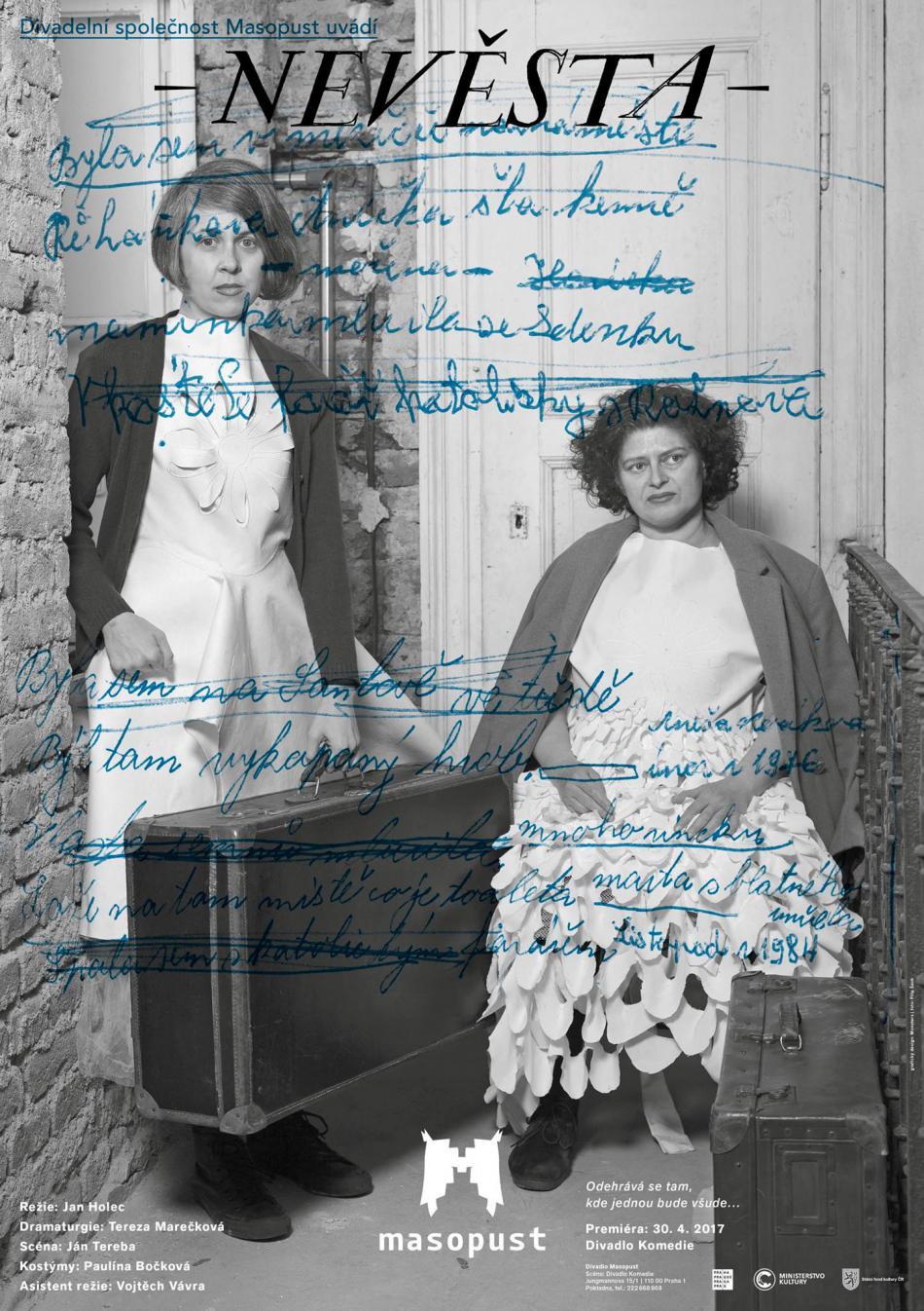 Plakát představení Nevěsta
