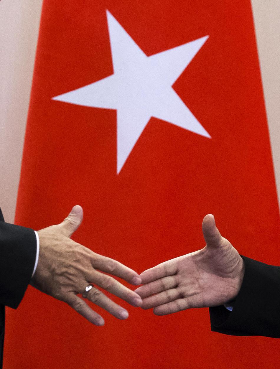 Setkání Erdogan - Putin