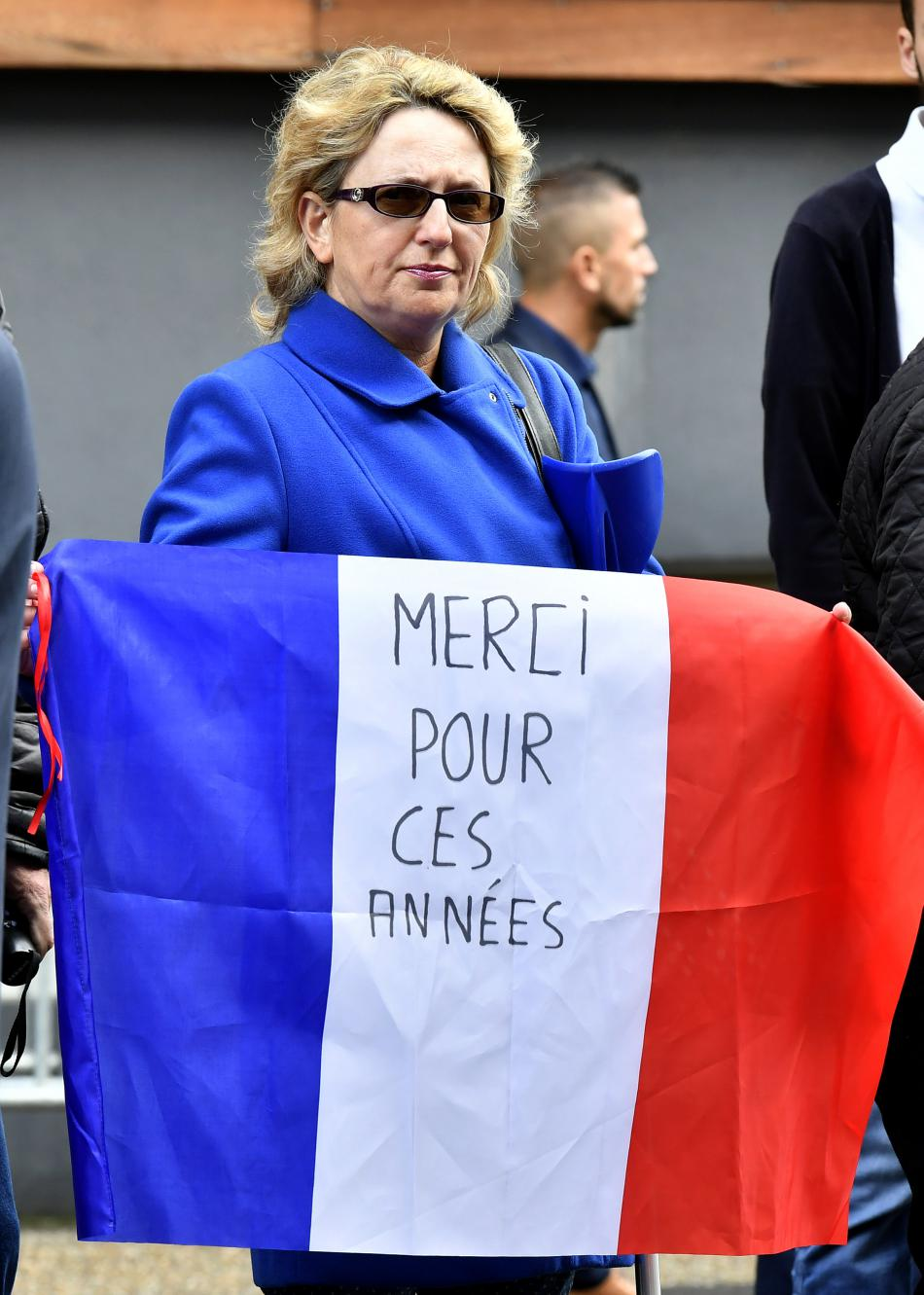 Francouzska děkuje Hollandovi za předchozí roky