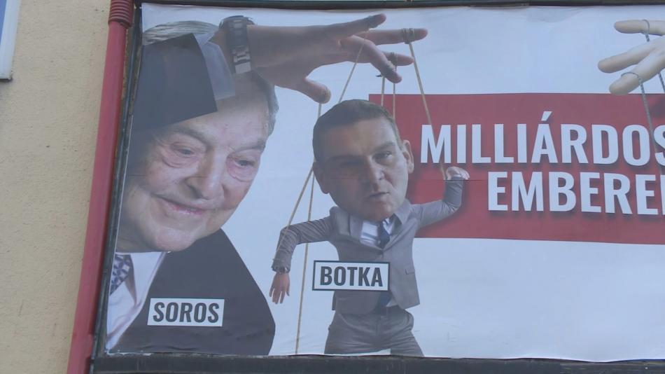 Soros jako vodič politických loutek