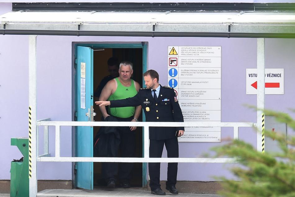 Jiří Kajínek opouští vězení