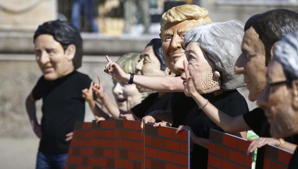 Protesty proti summitu G7