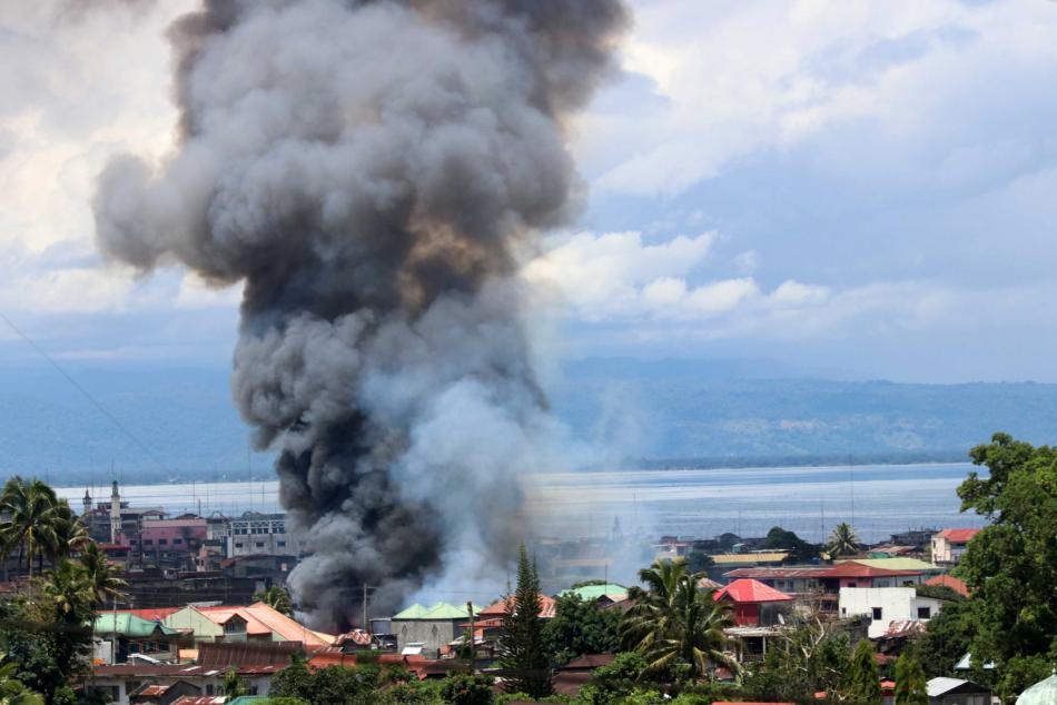 Boj s islamisty na Filipínách