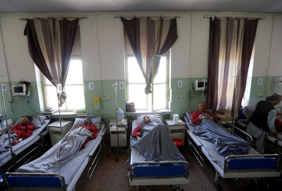 Zranění v kábulské nemocnici