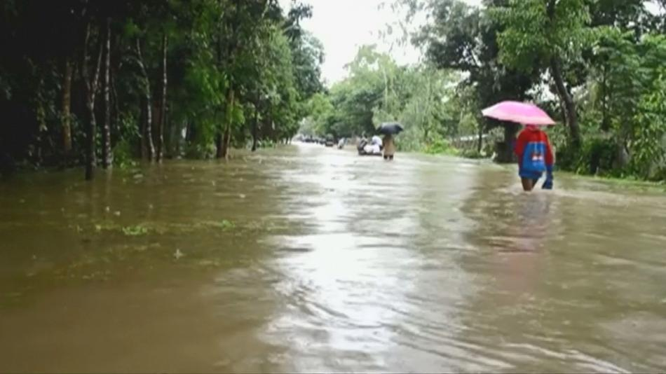 Záplavy v Bangladéši