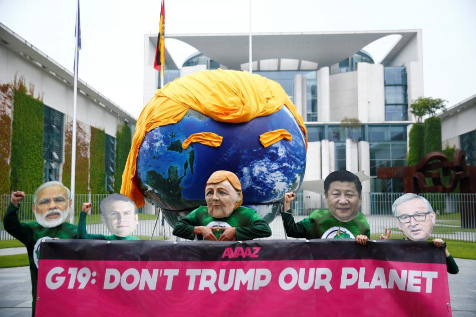 Aktivisté se připravují na summit skupiny G20