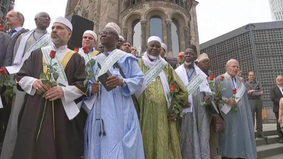 Evropští imámové během zastávky v Berlíně
