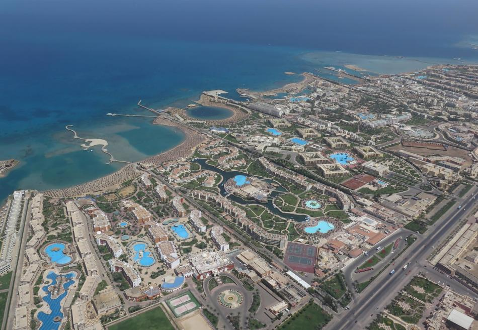 Egyptské letovisko Hurghada