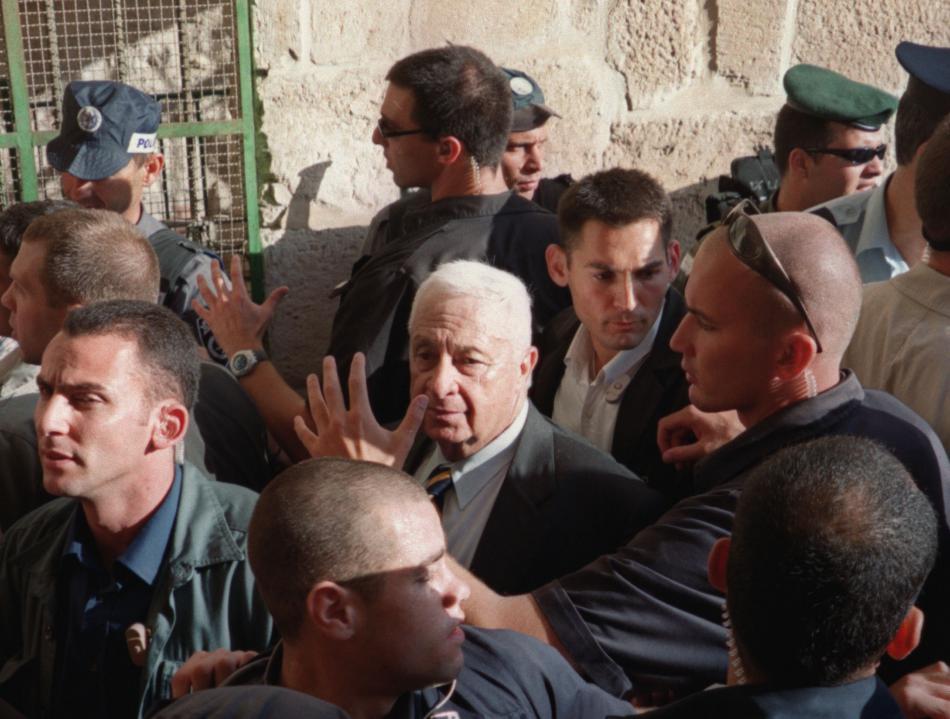 Návštěva Ariela Šarona na Chrámové hoře znamenala začátek druhé intifády