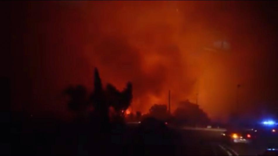 Požár na Korsice