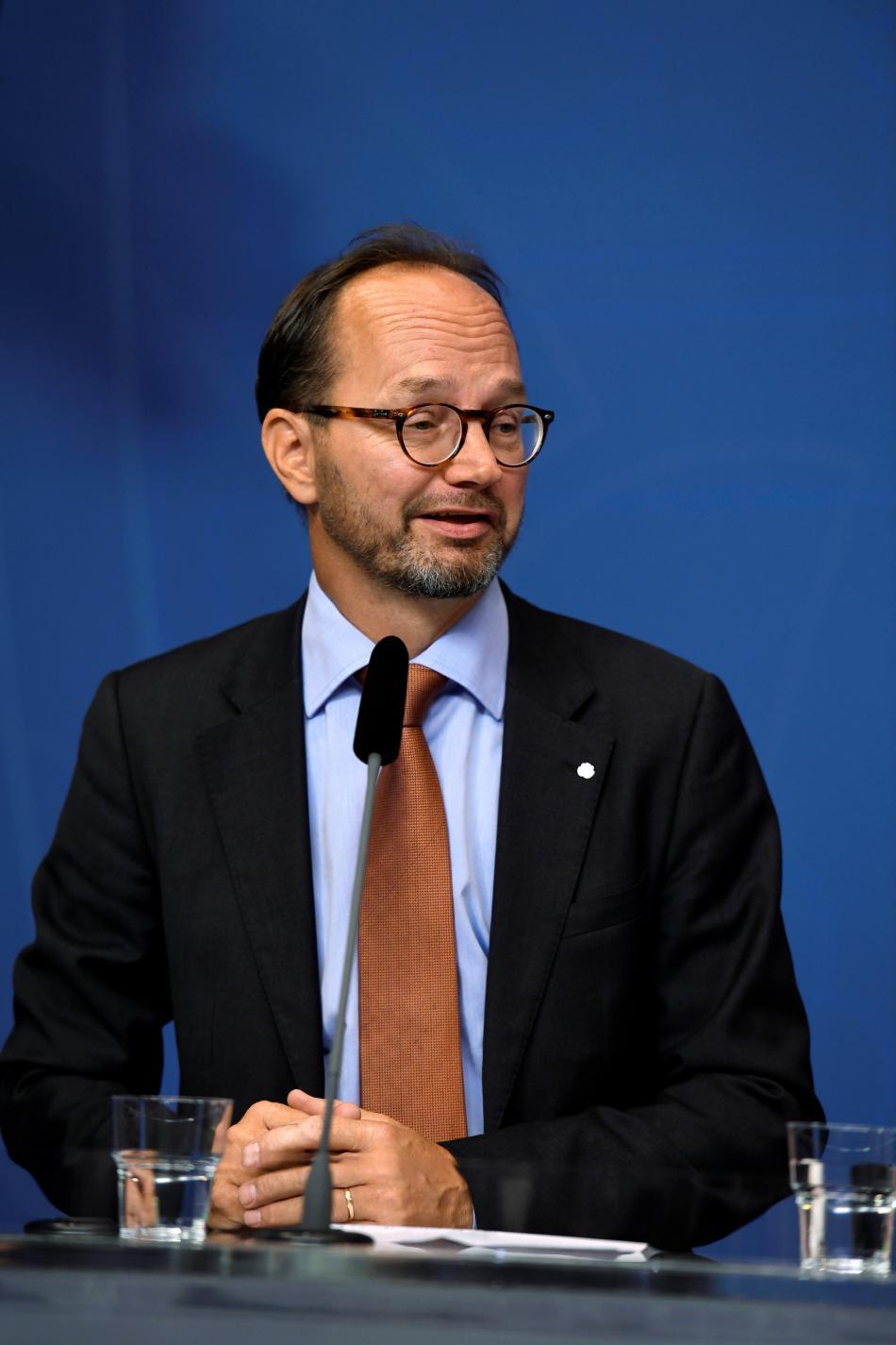 Nový švédský ministr infrastruktury Tomas Eneroth