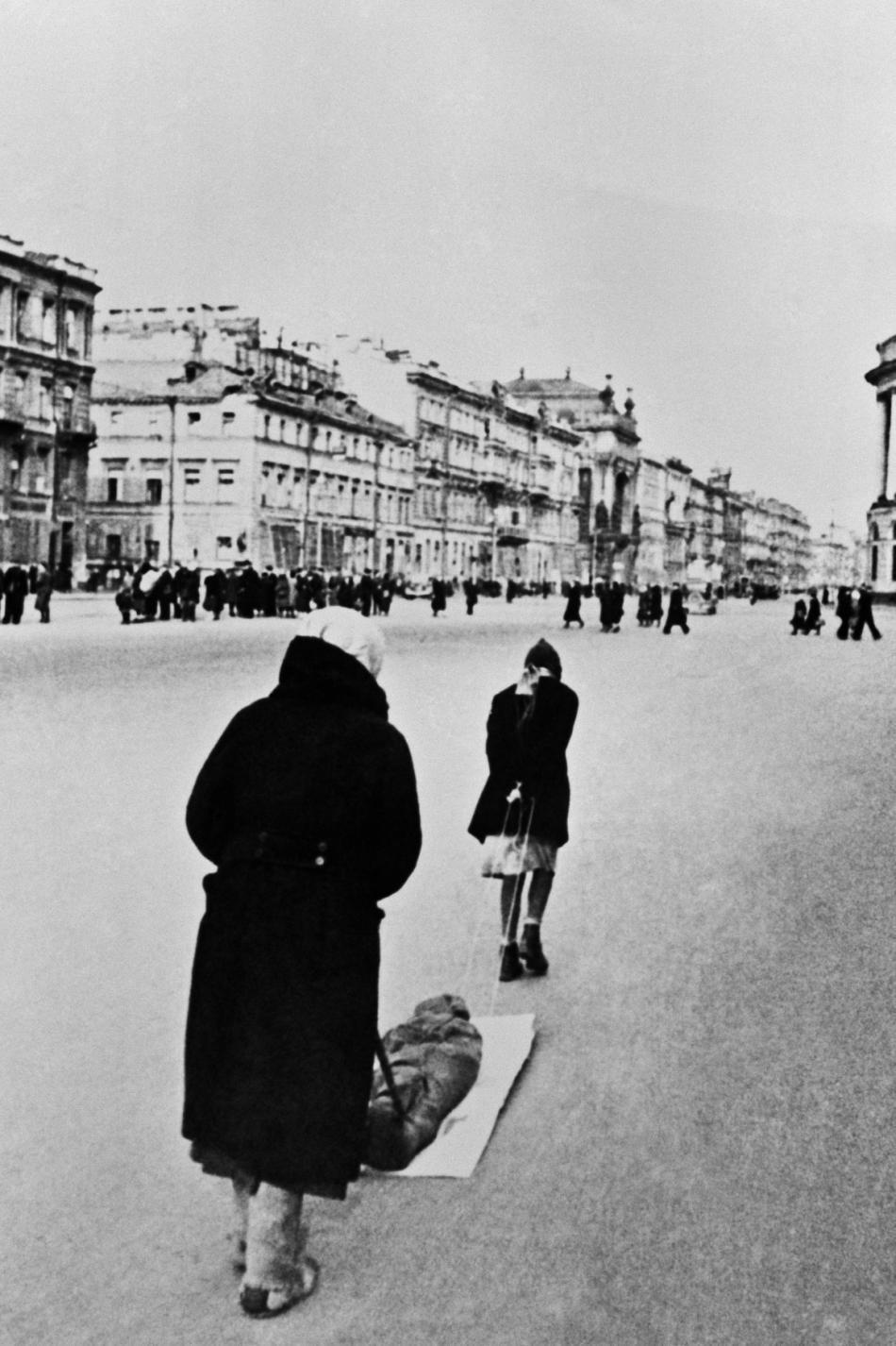 Leningrad během blokády