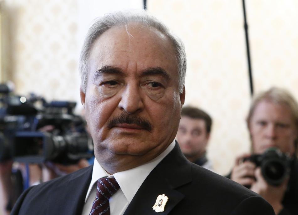 Chalífa Haftar v Moskvě