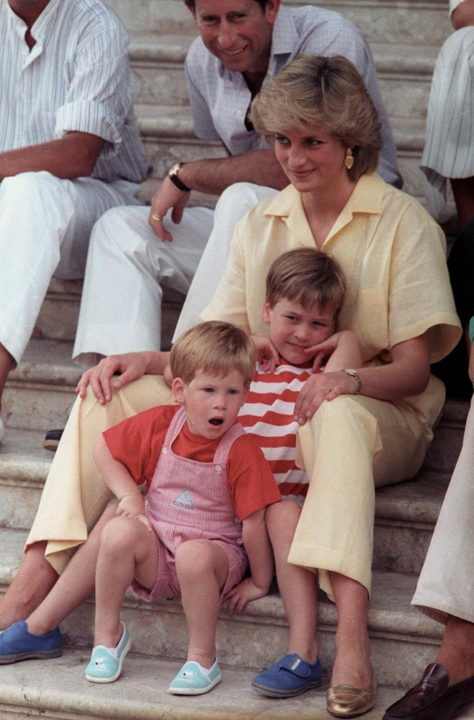 V roce 1987 trávila královská rodina dovolenou ve Španělsku