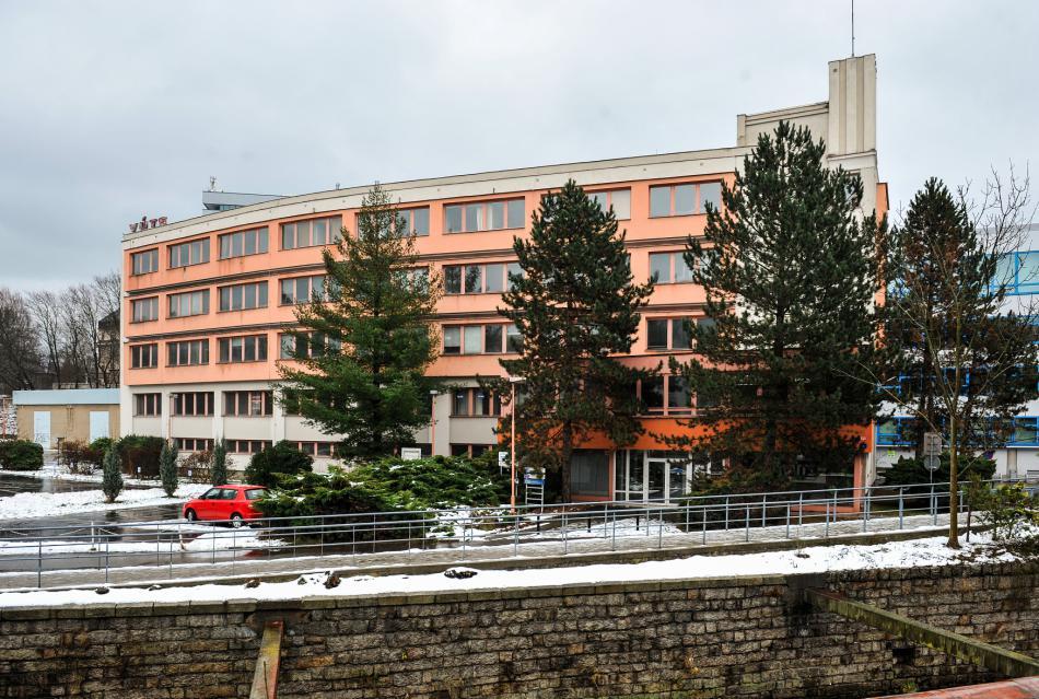 Budova VÚTS před rekonstrukcí