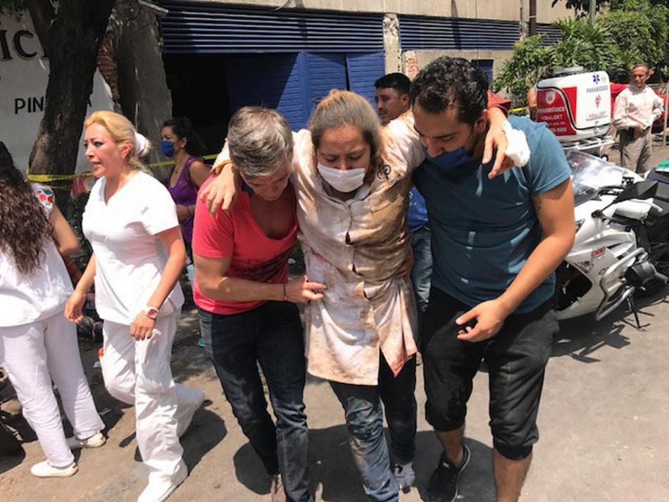 Mexiko postihlo další silné zemětřesení