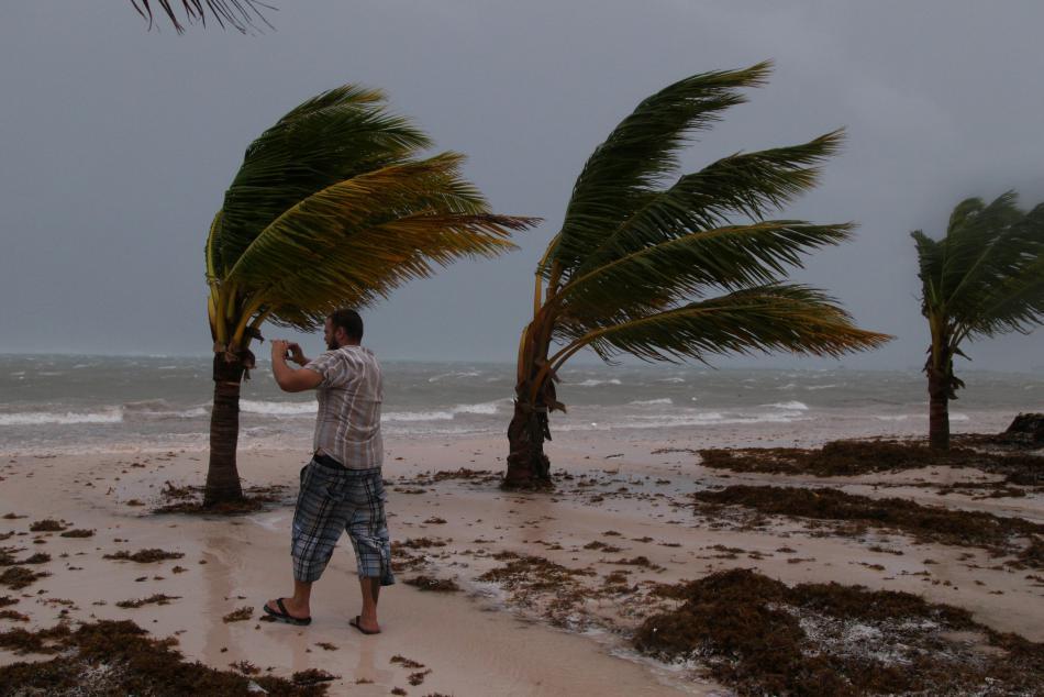 Hurikán Maria se blíží k Dominikánské republice