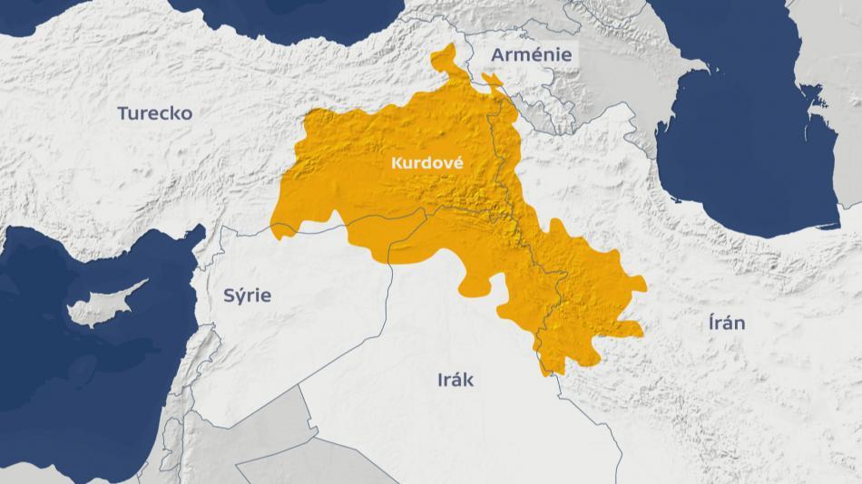 Území obývané Kurdy
