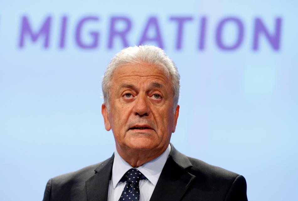 Eurokomisař pro migraci a vnitřní záležitosti Dimitris Avramopulos