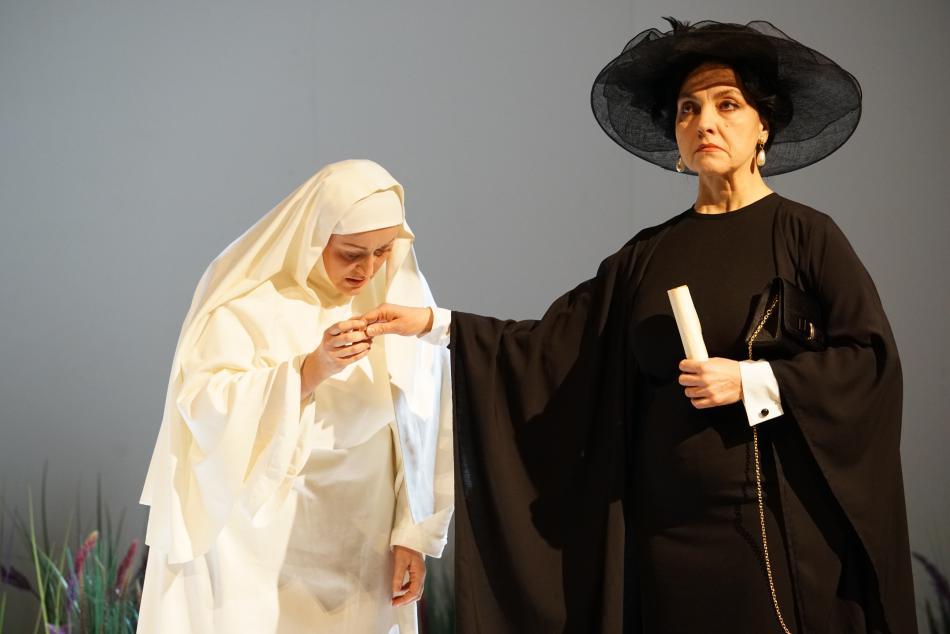 Mária Porubčinová (vlevo) a Jitka Sapara-Fischerová
