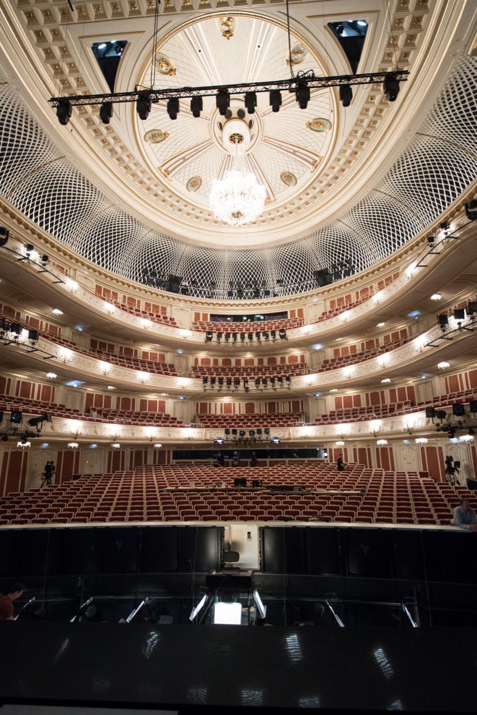 Zrekonstruovaná berlínská Staatsoper