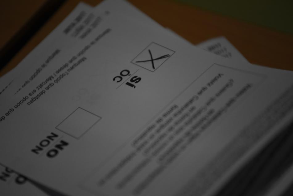 Sčítání hlasů katalánského referenda