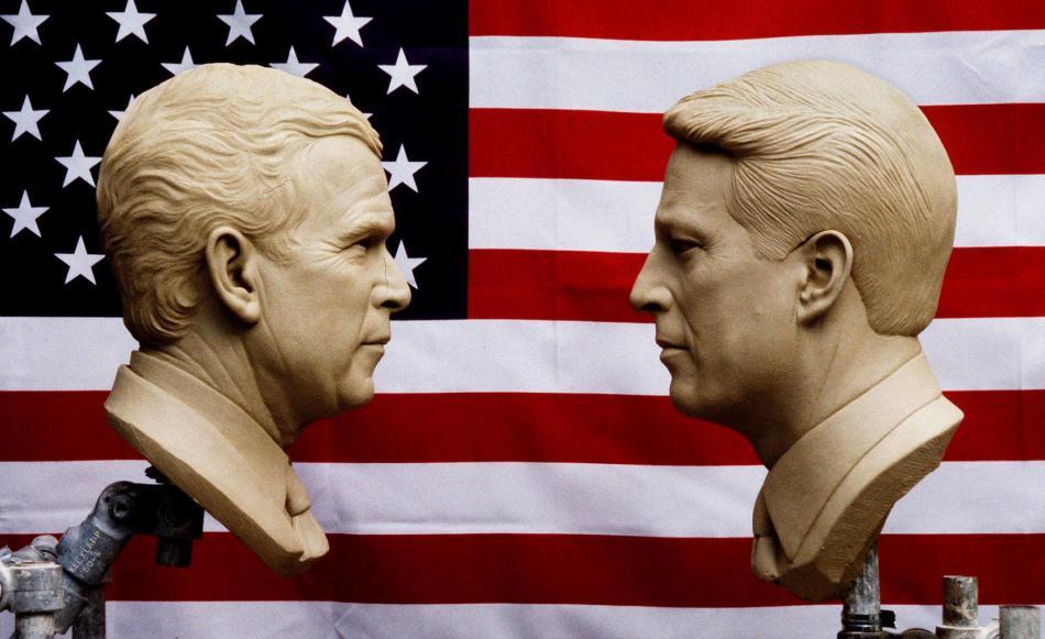 Volební souboj George Bush jr. vs. Al Gore