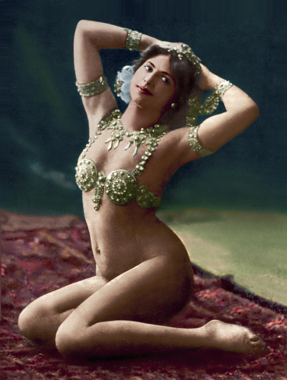 Mata Hari jako exotická tanečnice