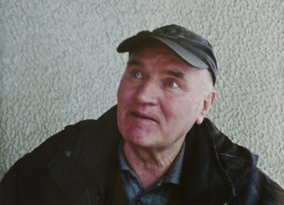 Ratko Mladič v den svého dopadení
