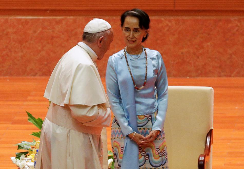 Papež František a Su Ťij