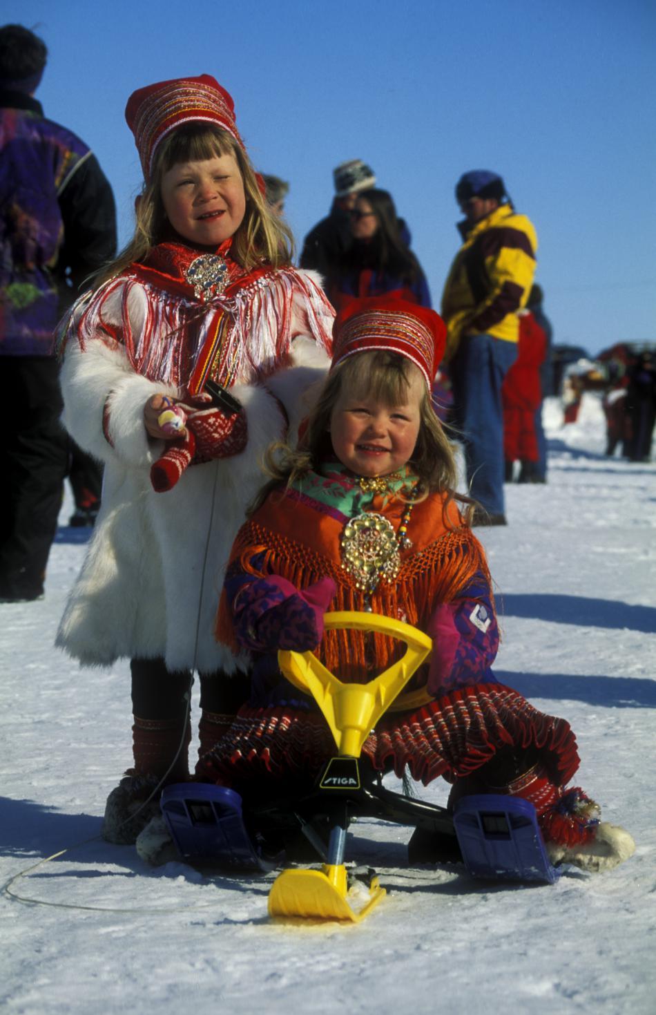 Sámské děti