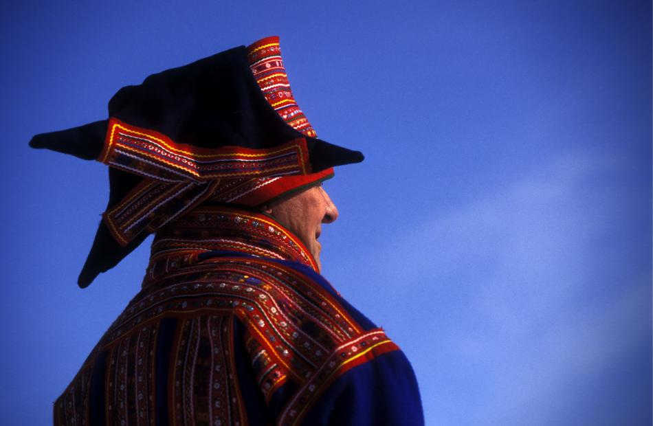 Tradiční sámský oděv