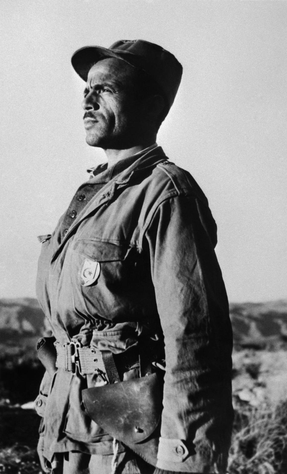 Příslušník alžírské osvobozenecké armády