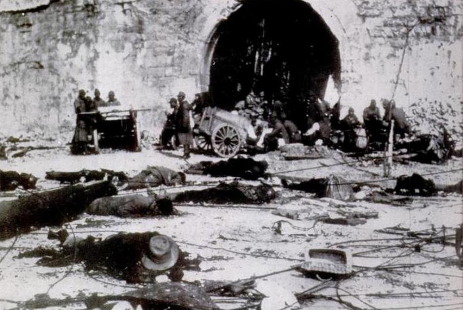 Nanking po vpádu japonské armády