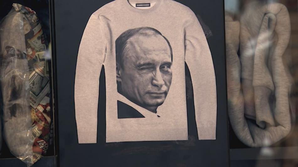 Tričko s Vladimirem Putinem