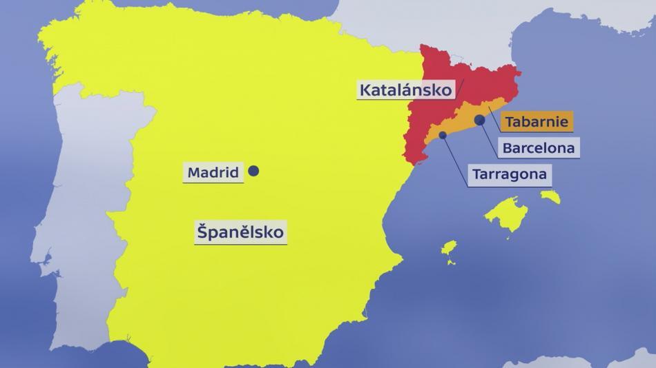 Mapa Tabarnie