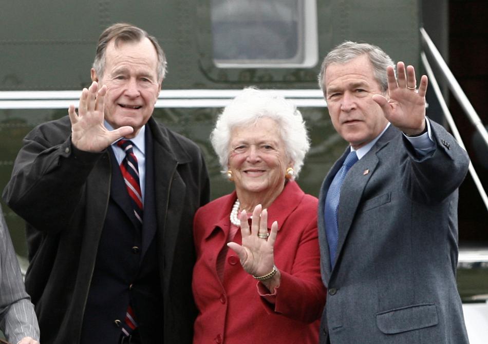 Barbara Bushová byla matkou i manželkou amerického prezidenta