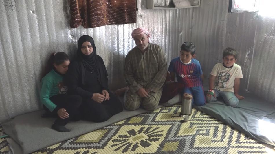 Rodina Al Ammúní prcla ze syrské Palmýry