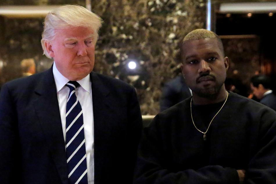 West je fanouškem Donalda Trumpa