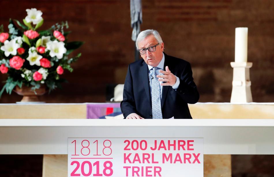 Jean-Claude Juncker v Trevíru