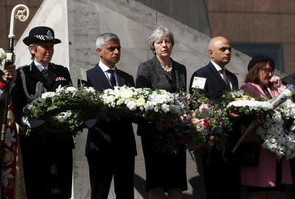 Pieta za oběti útoku z London Bridge
