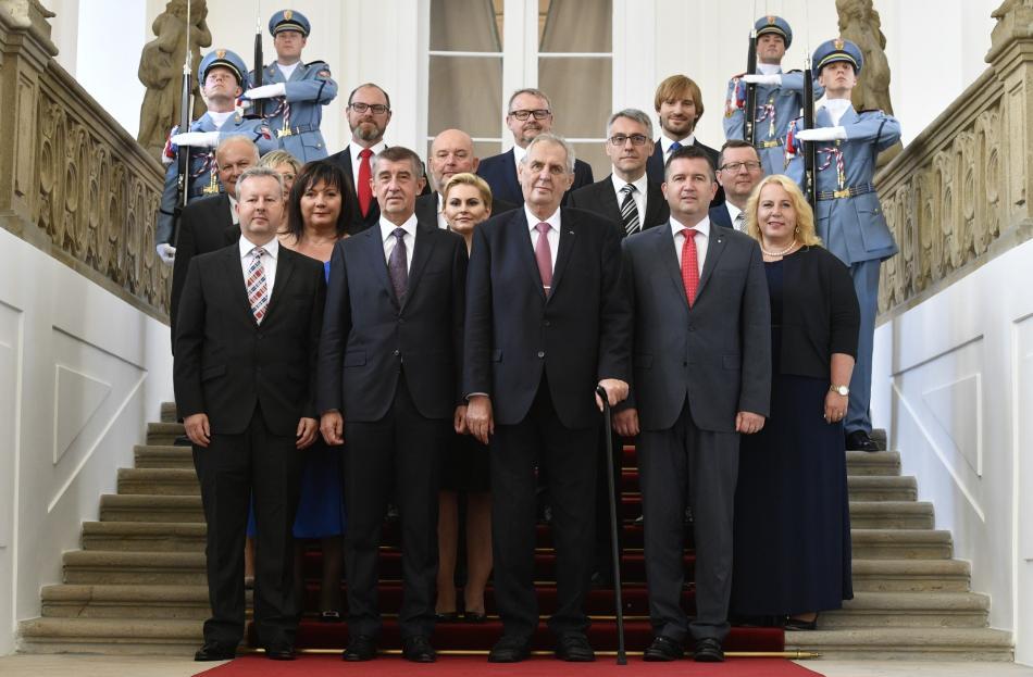 Nový kabinet premiéra Andreje Babiše